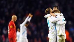 Atlético, Neapel und Liverpool sind raus