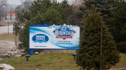 Bürger wehren sich gegen Nestlé