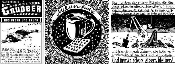 Comic / Kat Menschik / Der goldene Grubber / 011