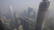 Smog in Peking: besser für das Klima?