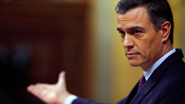 Pedro Sánchez und die zwei Stimmen Vorsprung