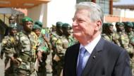 Gauck würdigt deutsches Engagement