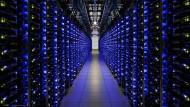 Das Rechenzentrum von Google in Georgia