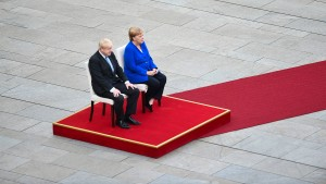 Mister Brexit und Frau Nein