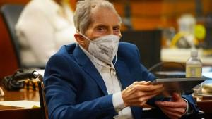 Schuldspruch gegen Immobilienerbe Robert Durst wegen Mordes