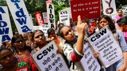 Dreijährige in Delhi vergewaltigt
