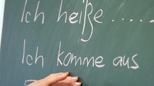 Deutsch ist out