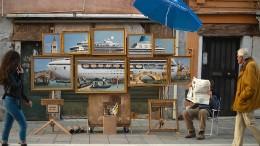 Ist Banksy in Venedig?