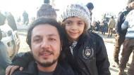 Siebenjähriges Mädchen Bana aus Aleppo evakuiert