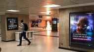Auf diesem Bild soll die Explosion im Zentralbahnhof zu sehen sein.