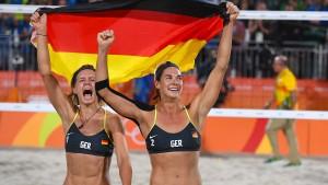 Ludwig/Walkenhorst baggern Gold aus dem Sand der Copacabana