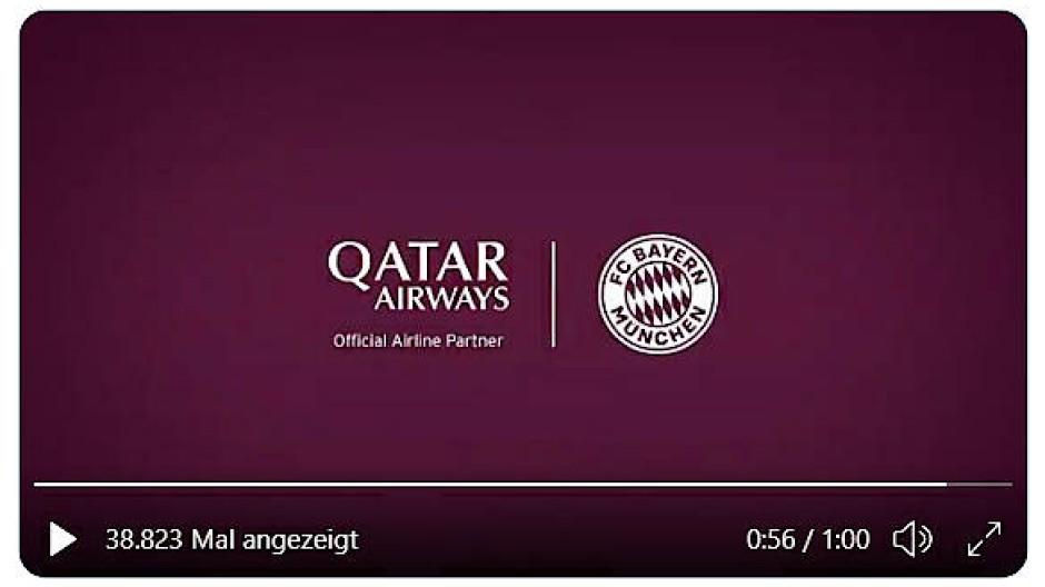 Ein Screenshot des kritisierten Videos