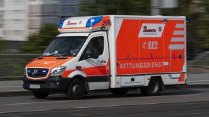 Unfall mit fünf Schwerverletzten auf der Autobahn 7