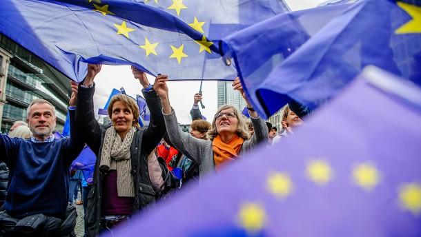 Flagge zeigen für Europa