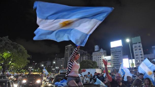 Argentinien wählt den Populismus ab