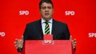 Gabriel tritt nicht als SPD-Kanzlerkandidat an