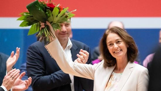 Barley zur SPD-Spitzenkandidatin gewählt