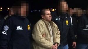 "Mexiko liefert ""El Chapo"" an Amerika aus"