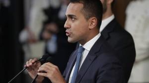 In Italien wird schon wieder mit Abbruch gedroht