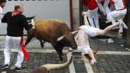 Mehrere Verletzte zum Auftakt der Stierrennen