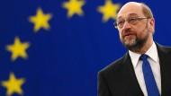 Martin Schulz verabschiedet sich von EU-Parlament