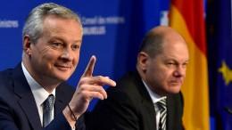 Frankreich plant Digitalsteuer im Alleingang