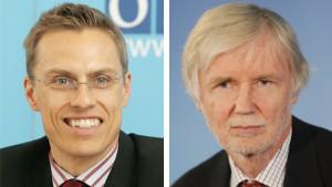 Finnlands diplomatisches Duo