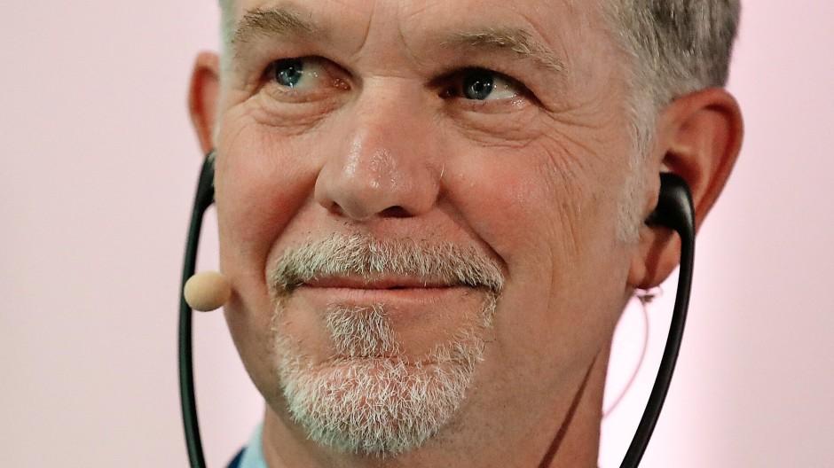 Hat viel vor auch in Deutschland: Reed Hastings