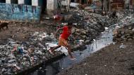 """In Haiti hat Hurrikan """"Matthew"""" das öffentliche Leben lahmgelegt. Auch eine Wahl ist derzeit unmöglich."""