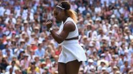 Serena Williams greift nach dem Rekord