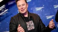 Elon Musk nimmt vergangenen Dezember an einer Veranstaltung in Berlin teil.