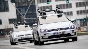 Durch Hamburg fahren jetzt autonome Autos