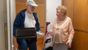 Der Seniorenteller bleibt häufiger stehen