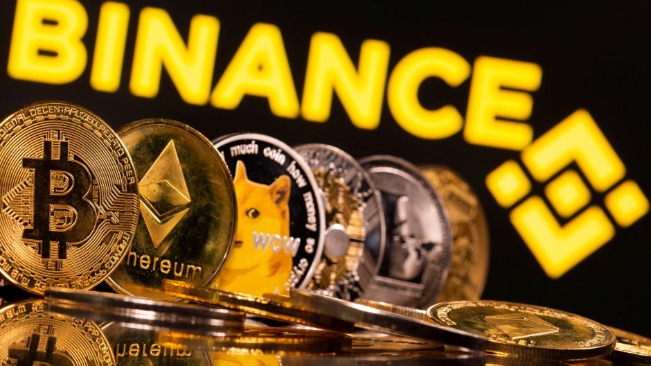 Auf der Kryptobörse Binance können Bitcoin und andere digitale Vermögenswerte gehandelt werden.