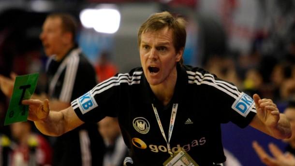 Unbeirrbarer Diener des Handballs