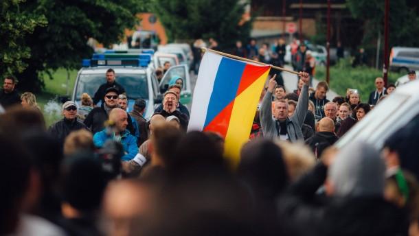 Terrorverdacht gegen Bürgerwehr aus Freital