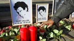 Gericht schließt Akte zum Todesfall Oury Jalloh