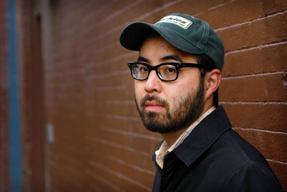 Der Comic-Autor Adrian Tomine, geboren 1974