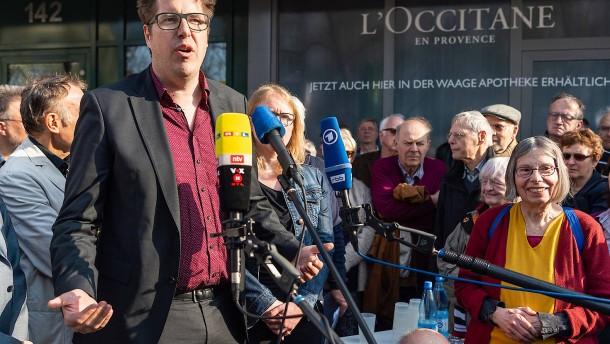 Hunderte gedenken Rudi Dutschkes in Berlin