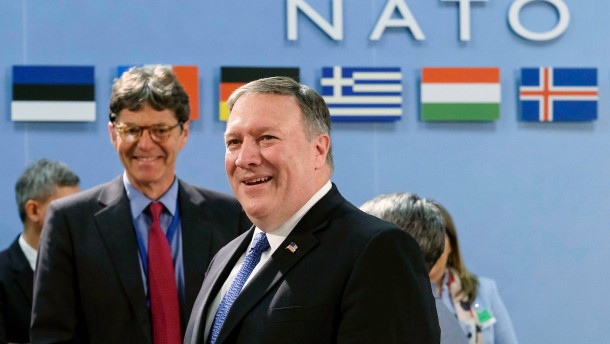 Pompeo erinnert Nato-Partner an Zwei-Prozent-Ziel