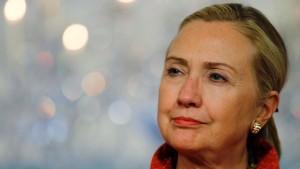Clinton will Militärhilfe für Ägypten fortsetzen