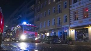 Feiernde mit schwersten Verletzungen in Berlin