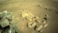 Mars-Rover gelingt Umwandlung von CO2 in Sauerstoff