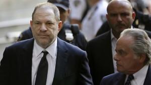 Anklage in weiteren Punkten gegen Harvey Weinstein