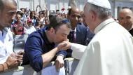 Der Ire Vincent Doyle, hier im Juni 2014 bei einer Papst-Audienz auf dem Petersplatz in Rom, fand nach dem Tod seiner Mutter heraus, dass er der Sohn eines amerikanischen Geistlichen ist.