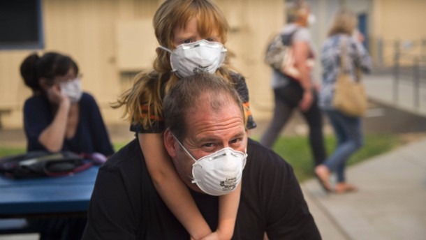 Fast 300 Menschen in Kalifornien vermisst