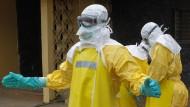 Minister: Ebola-Epidemie bedroht Existenz Liberias
