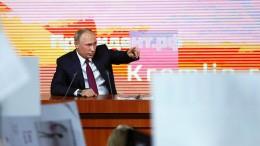 Putin will sich als unabhängiger Kandidat bewerben