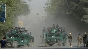 Viele Tote bei Anschlag auf Gerichtshof in Kabul