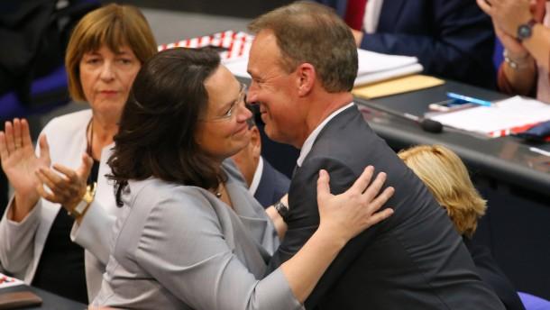 """""""Es gibt das Risiko, dass die SPD ganz verschwindet"""""""